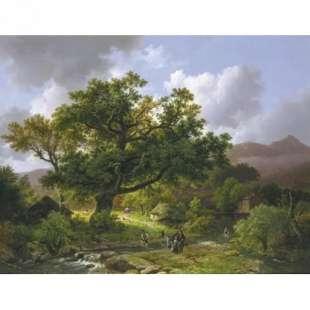 Verwonderend Beroemde reproductie schilderijen van bekende kunstenaars PD-34