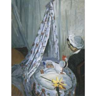 Schilderij Jean Monet In His Cradle foto 1