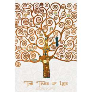 Schilderij The Tree of Life Pastiche Marzipan foto 1