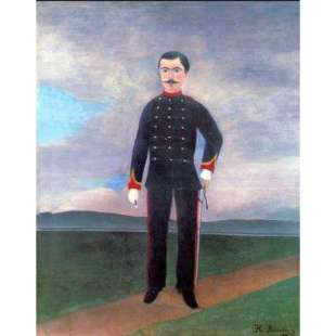 Schilderij Portrait Of Frumence Biche In Uniform foto 1