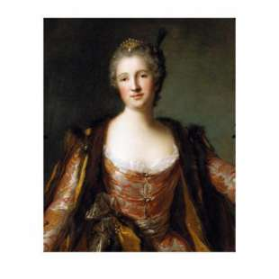 Portrait of Gorgeous Queen Elisabeth foto 1