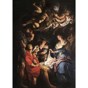 Adoration of the Shepherds - Rubens foto 1