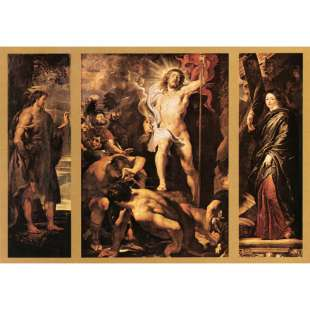 Rubens Schilderijen - The Resurrection of Christ foto 1